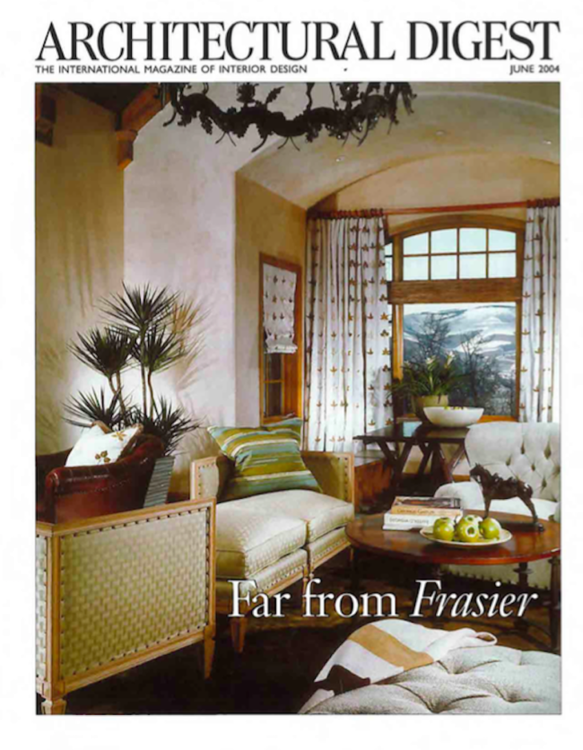 Architectural Digest, Far From Frasier