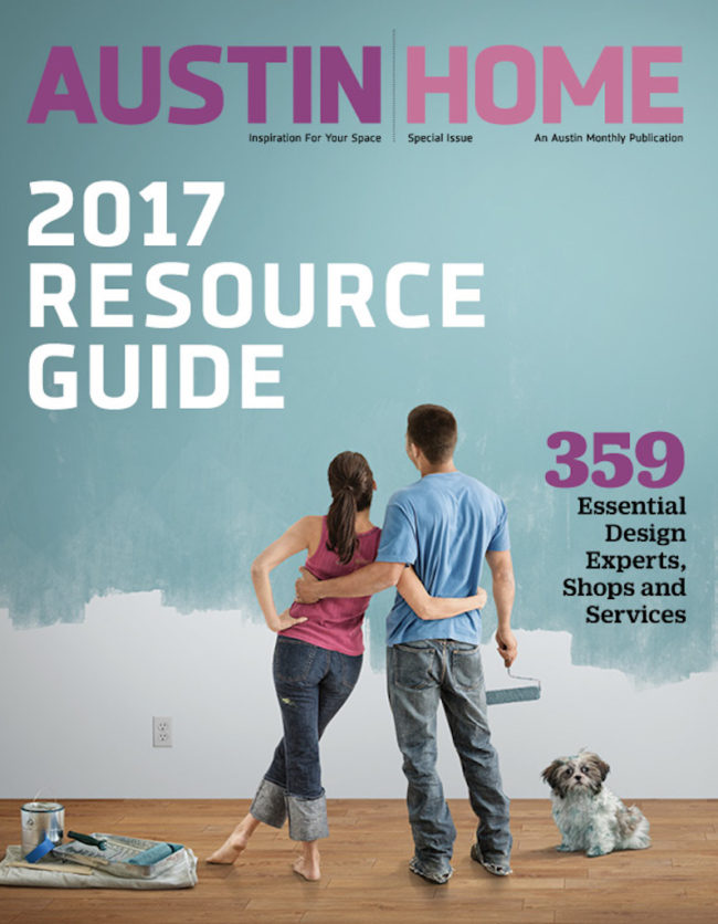 Wright Interiors Featured in 2017 Austin Home Resource Guide